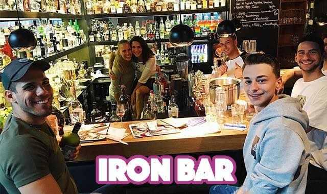 Gay Bar in der Schaafenstraße Köln: Die Iron Bar ist immer einen Besuch wert.